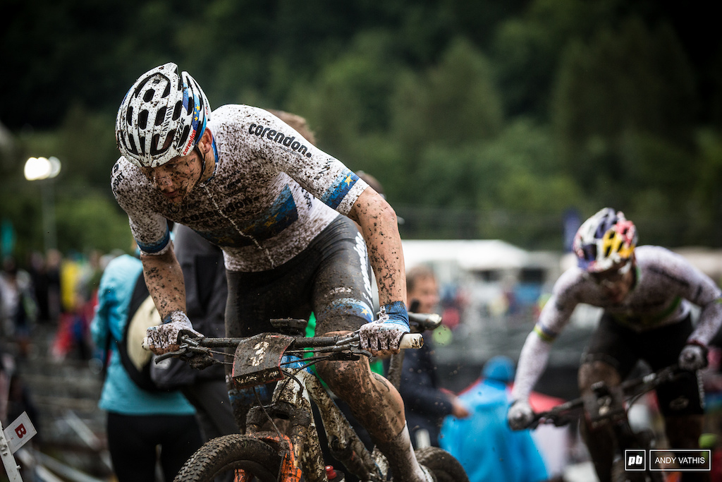 Mathieu Van Der Poel and Henrique Avancini battled it out until the very end.