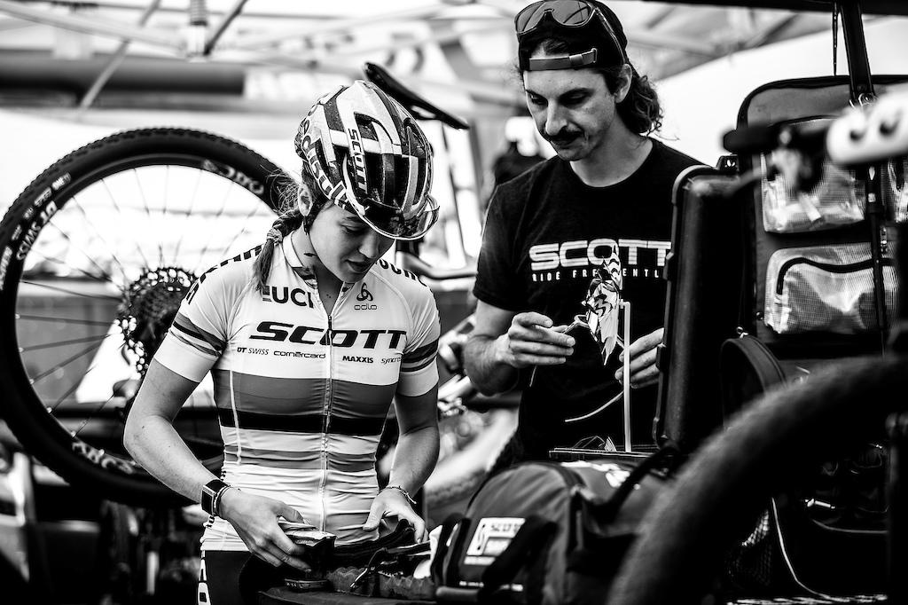 During the 2019 UCI MTB World Cup La Massana Andorra.