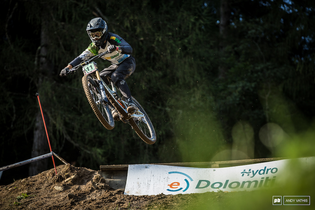 Huge first World Cup win for Tuhoto-Ariki Pene. Well deserved on this unforgiving track.