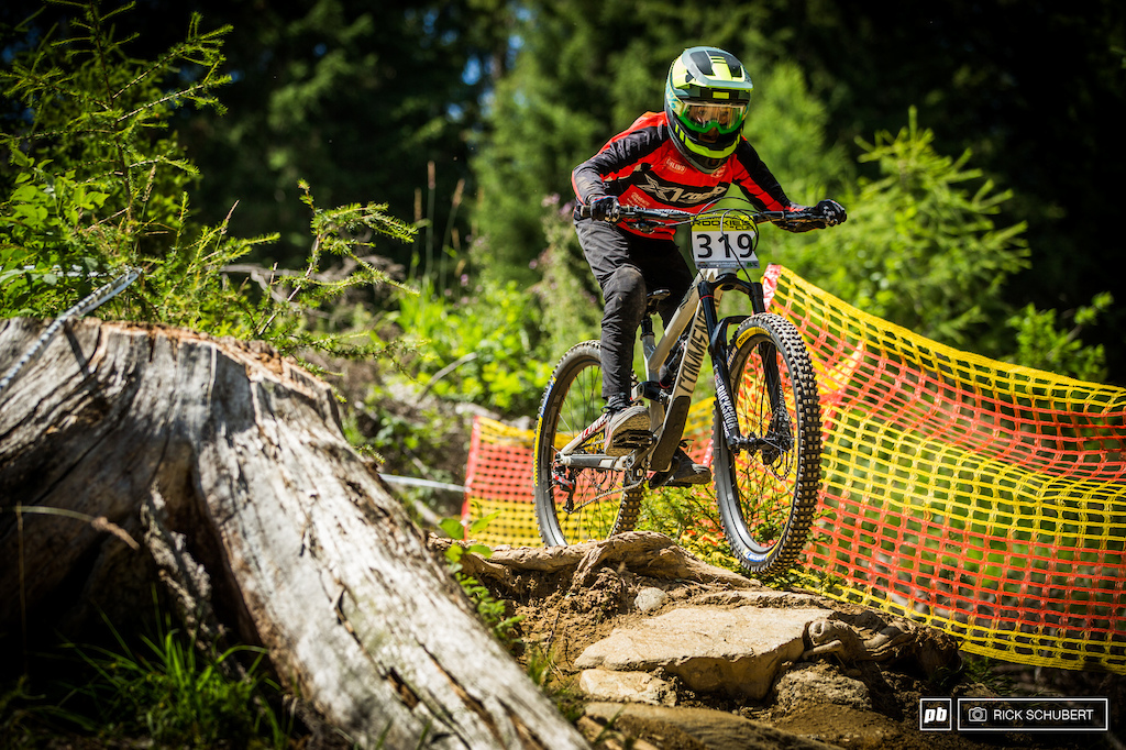Till Alran's riding style was so impressive over the weekend. No wonder he won the Boys U13
