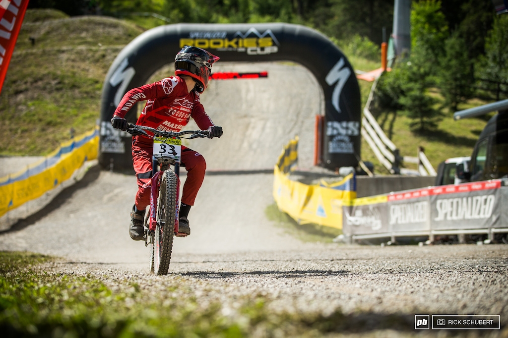 Luis Kiefer of the Sram Young Guns Racing team had to settle for 14th in the big final