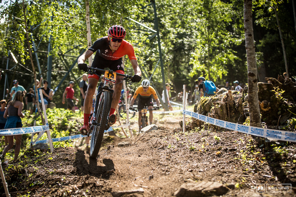 Good day on course for Christopher Blevins who's been chasing a solid result. He'd finish just off the podium.