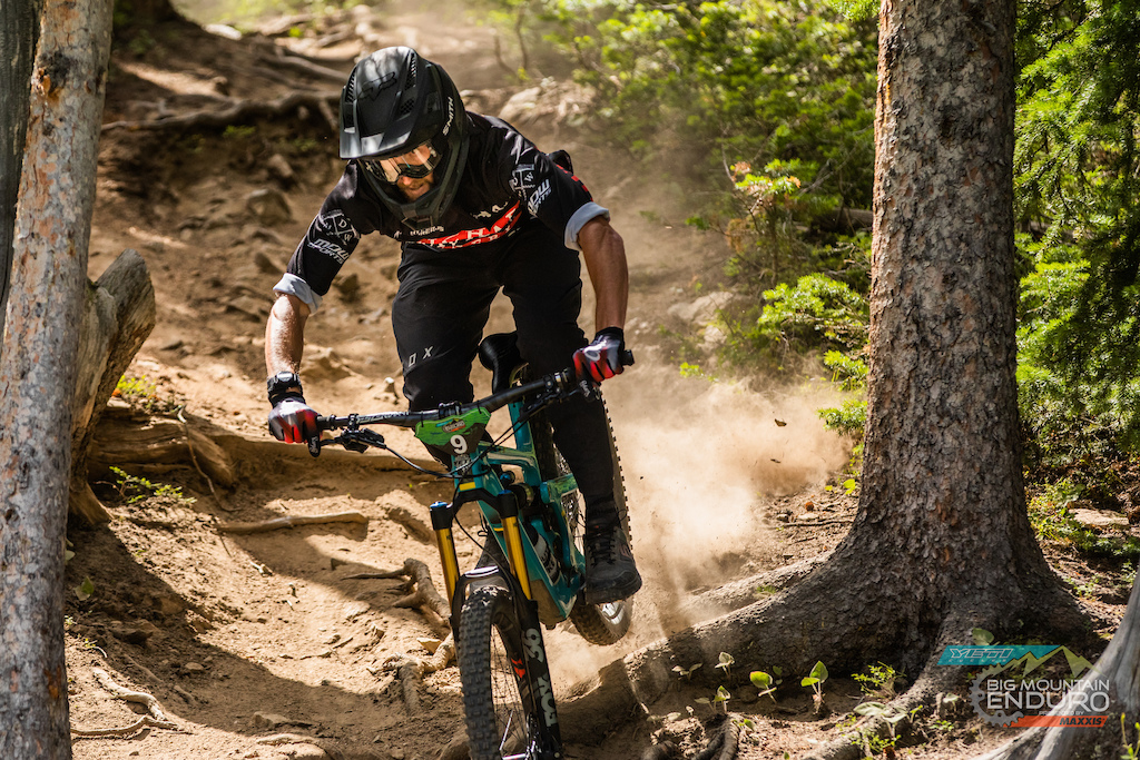 Todd Renwick bombing his way to the top of the Pro Mens Podium.