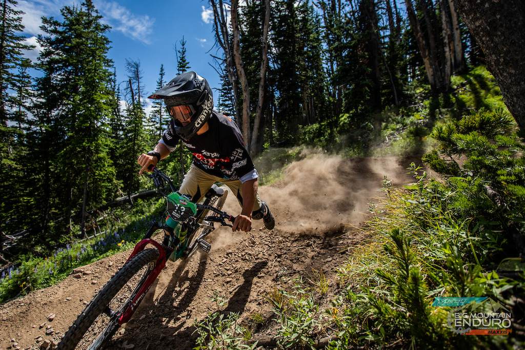 Big Mountain Enduro: Big Sky Drift. Starring Trevor Boldi.