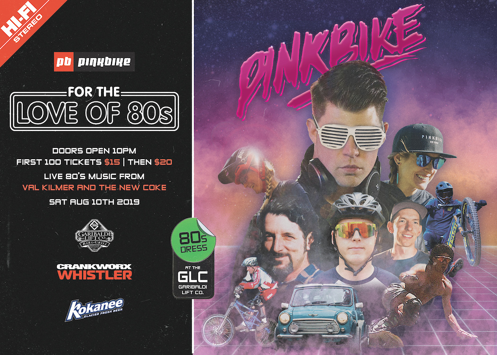 Pinkbike 80 s Party - Crankworx Whistler