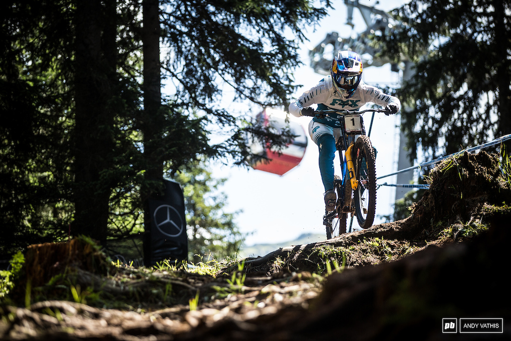 Loic Bruni back where he won World Champs last year. Is he in for a repeat?