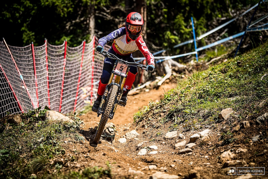 Veronika Widmann will be out looking for a little Swiss redemption after what could have been a bigger score for her on home soil last weekend.