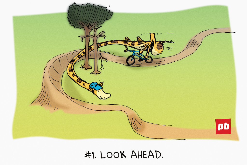 6 Tips for Beginners - Sunday Comics with Taj Mihelich - Pinkbike
