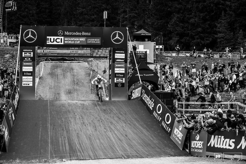 Loic Bruni slots into third behind Greg Minnaar and Amaury Pierron.
