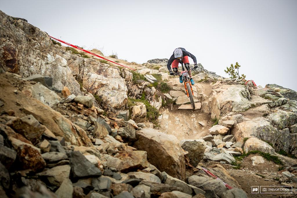 Felix Burke fresh off a BC Bike Race victory, and now looking good on the enduro bike.