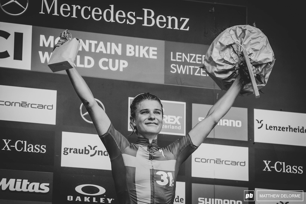 In her short time back on the WC cup circuit, Jenny Rissveds has staged the comeback of the decade.