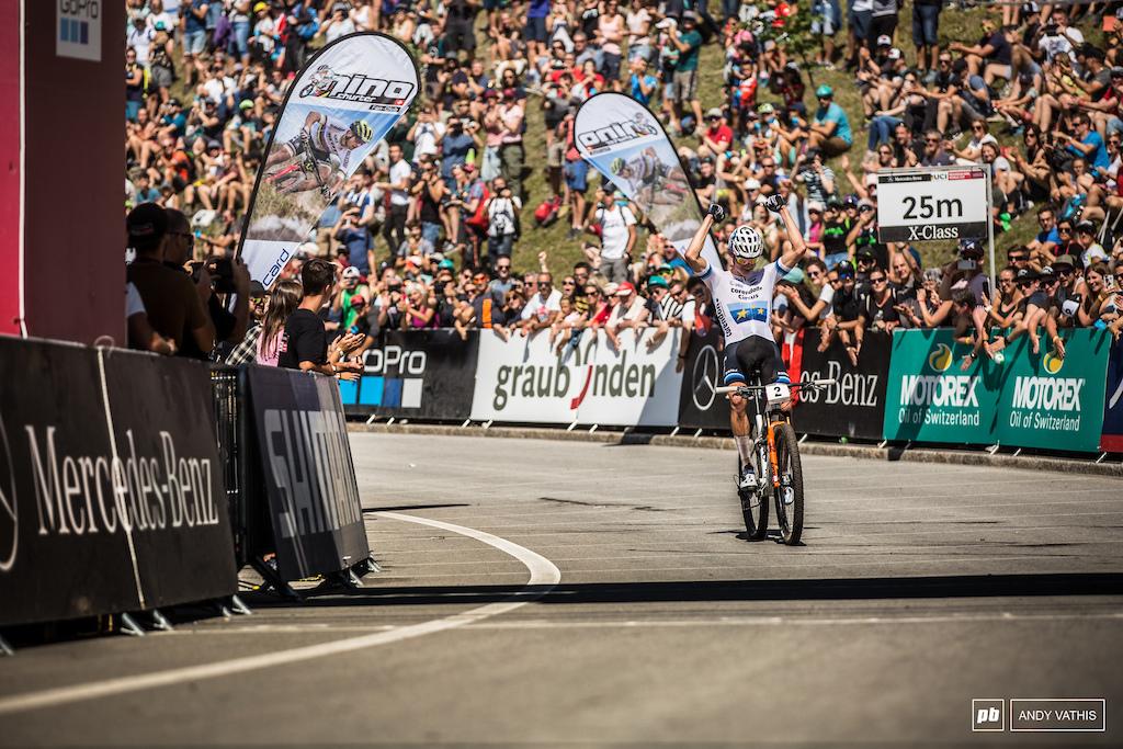 Massive win for Van der Poel.