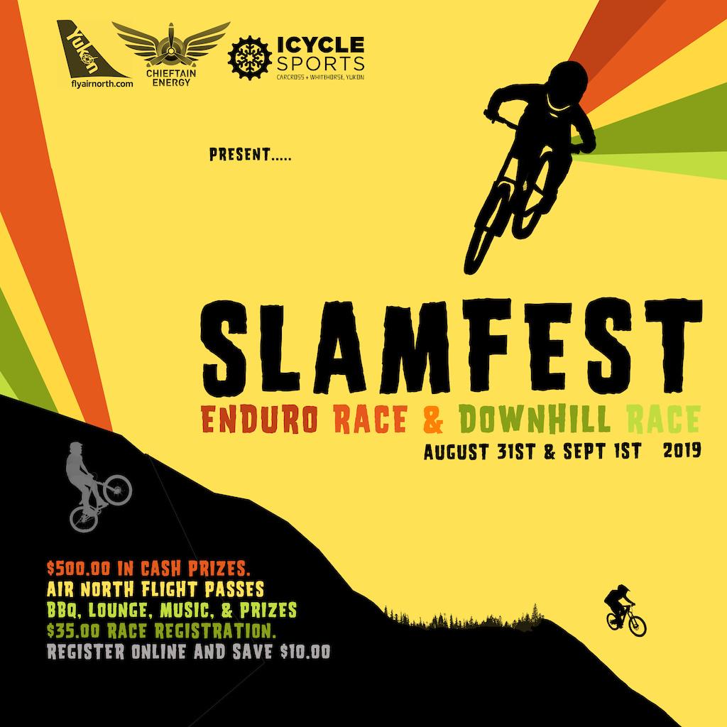 SlamFest 2019 Poster