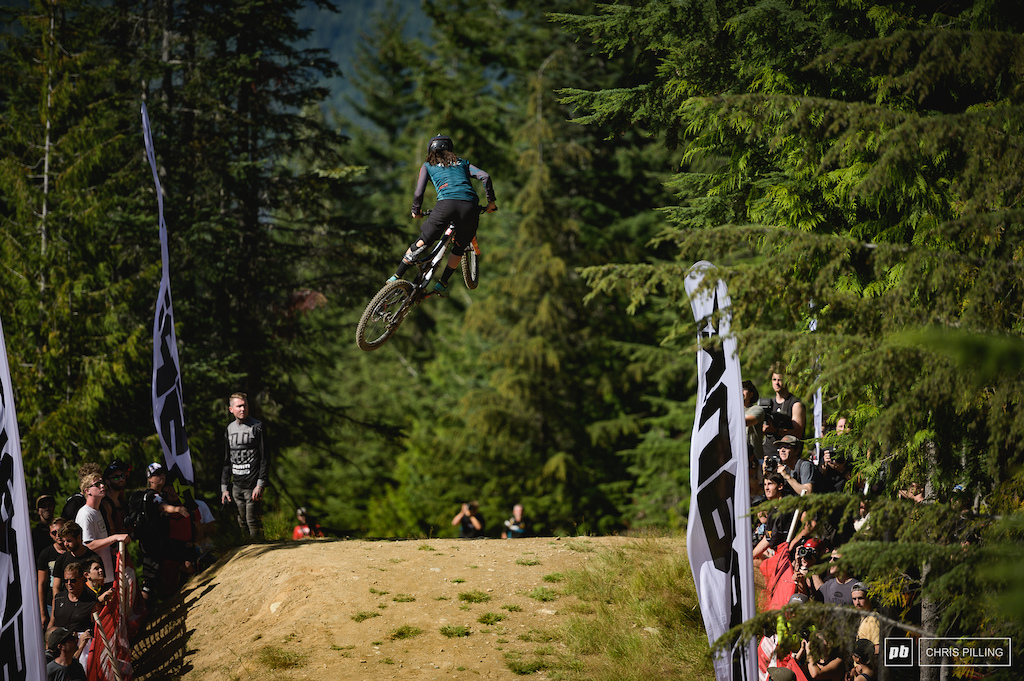 Georgia Astle can't get enough of Crankworx