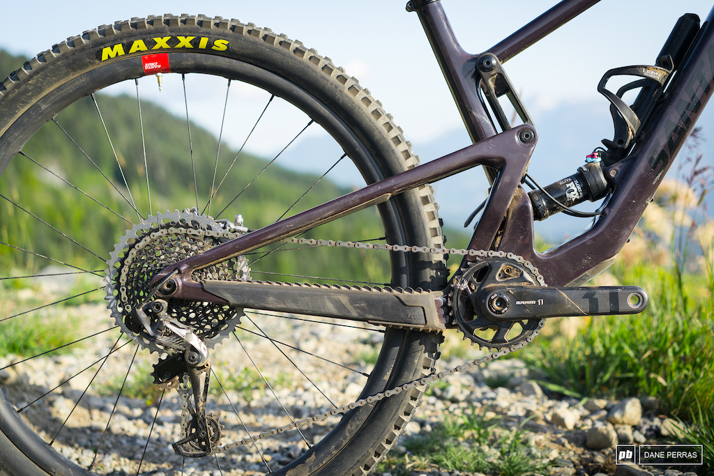 Santa Cruz Tallboy review Photo by Dane Perras