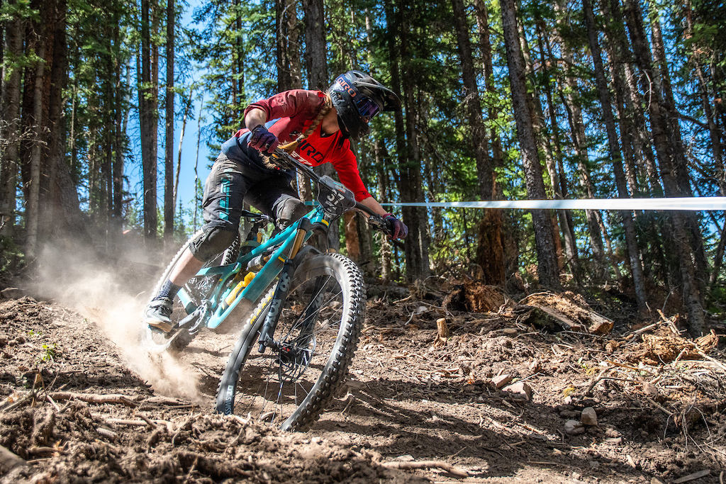 Zephyr Sylvester s weekend and season came unwound with a broken hand suffered from a crash on stage 2.