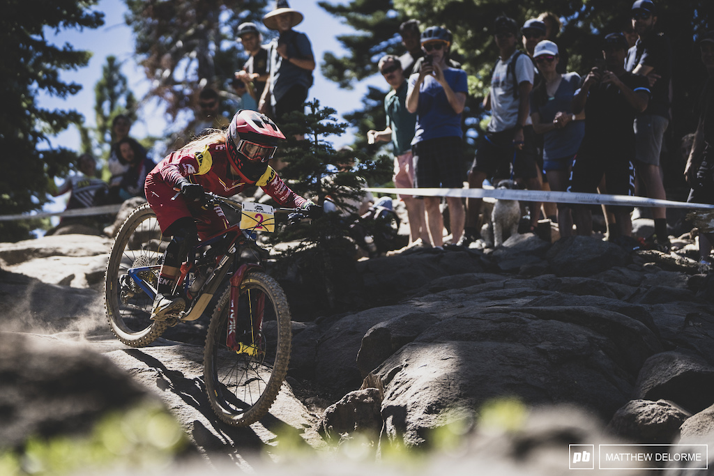 Isabeau Courdurier takes yet another win in what has been a perfect season.