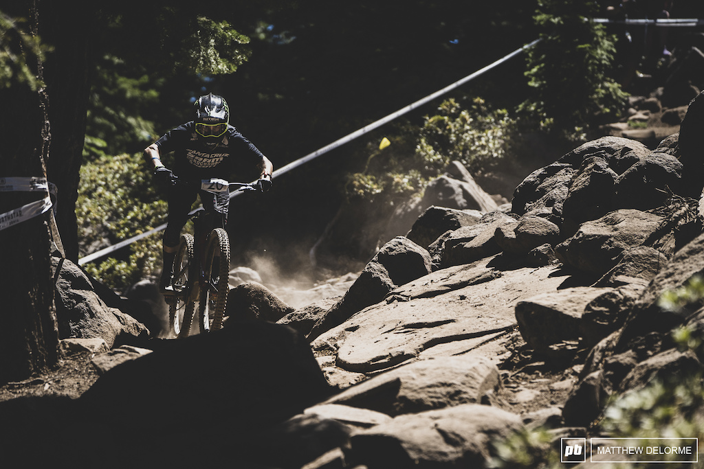 Mitch Ropelato was possibly the most impressive this weekend taking his first EWS podium.