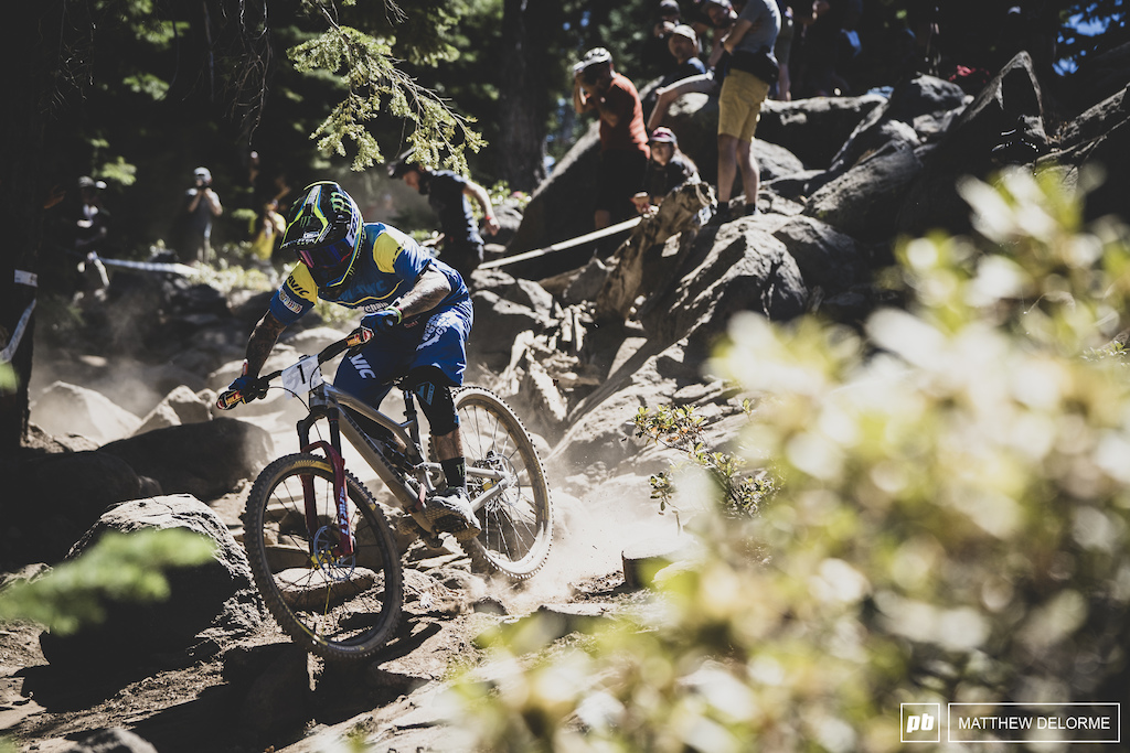 Sam Hill was so close to his first win but would have to settle for second by .8 of a second.