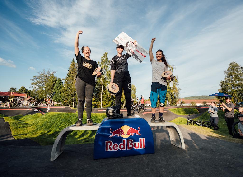 Women s podium in Sweden