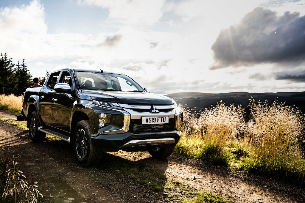 Mitsubishi UK provided two brand new pick ups for the media team to use across some very remote terrain. Rough ford crossings steep pitches and rocky moorland were all tackled with ease.