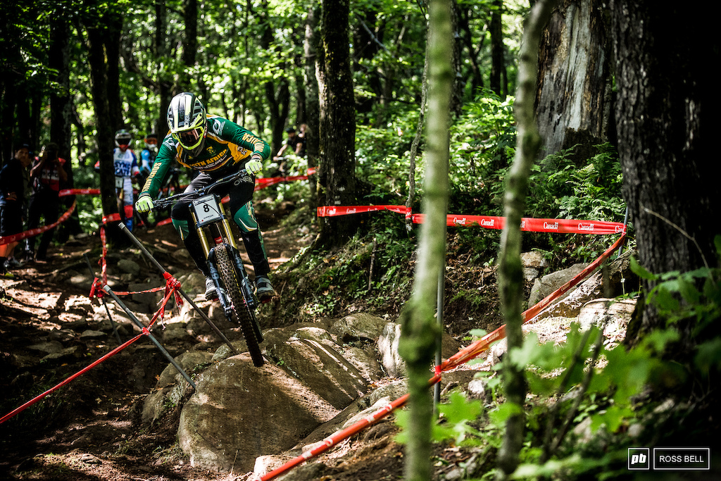 World Champs always brings out the best in Greg Minnaar, what does the G.O.A.T have up his sleeve in Mont-Sainte-Anne?