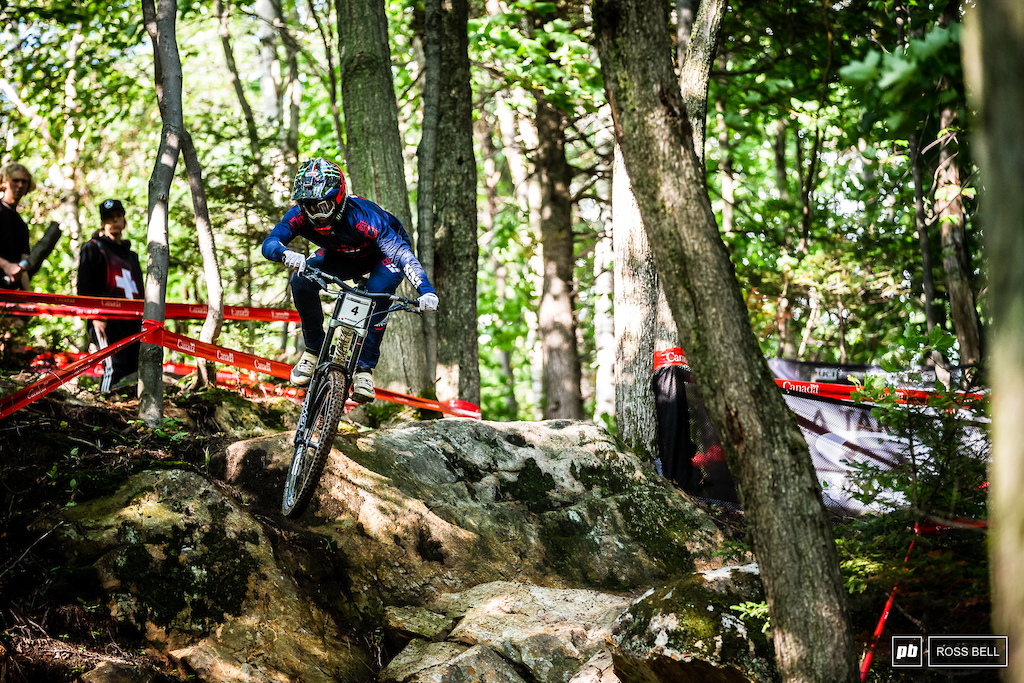 Amaury Pierron doesn't have a World Champs medal to his name. Yet.
