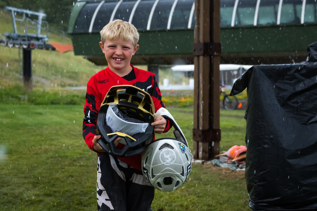 The next winner of the brand new Fox Pro Frame Helmet from the ugly helmet contest.