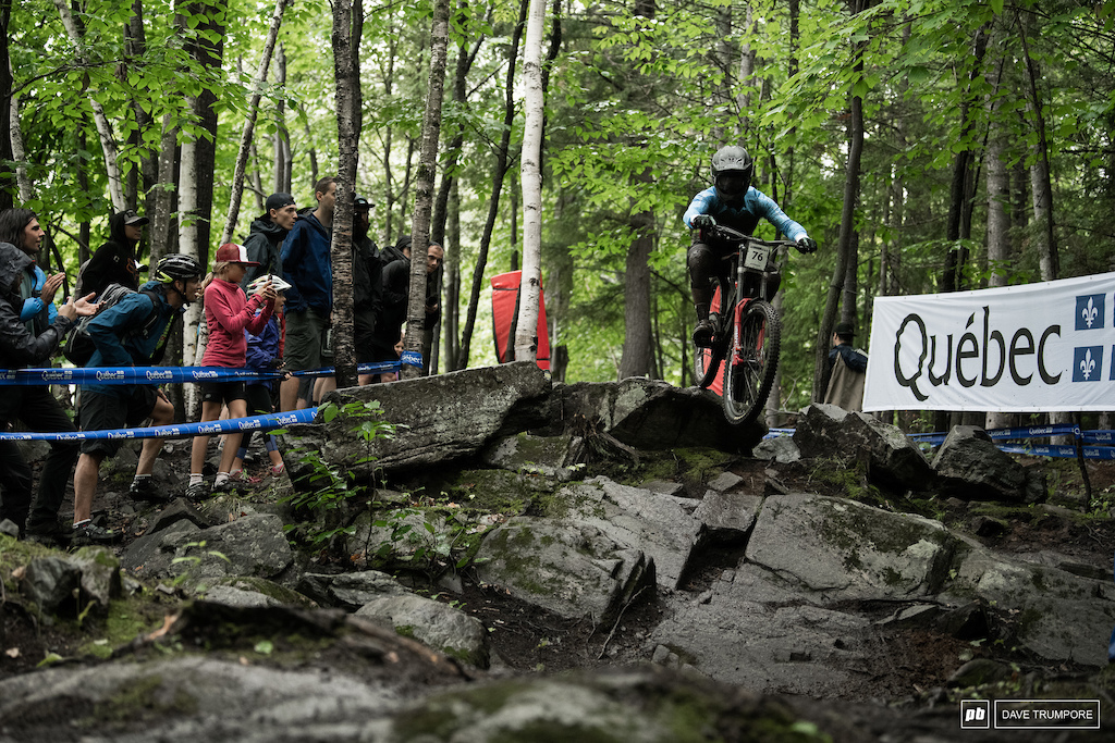 Hugo Langevin was a n alternate on the Canadian team originally and today he came 10th in qualifying