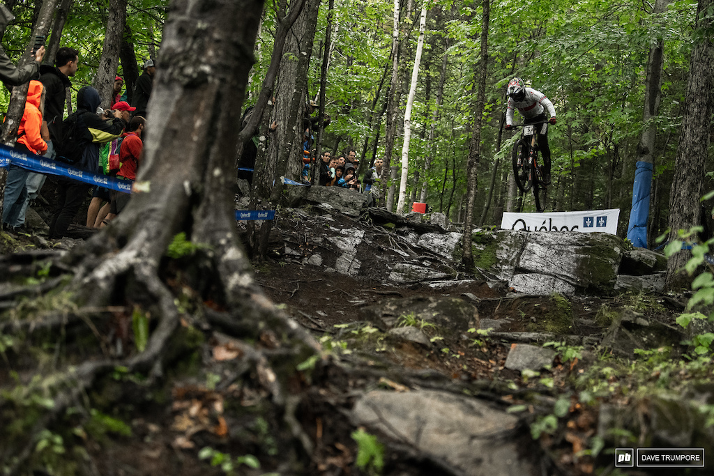 Danny was one of three riders to send this big gap en route to his winning time in qualifying