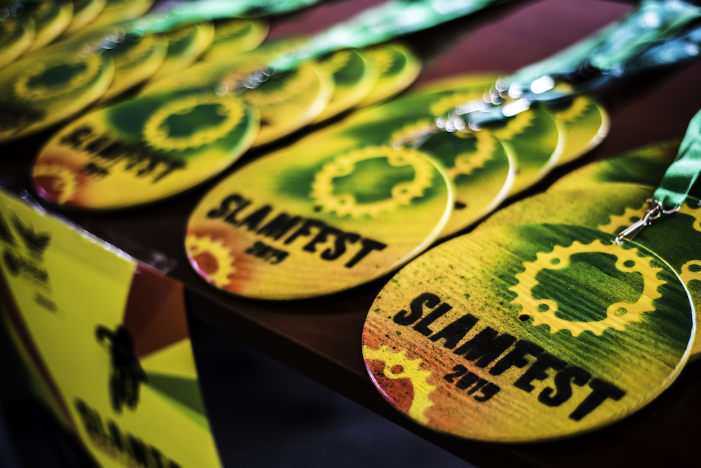 SlamFest Medals ready to go