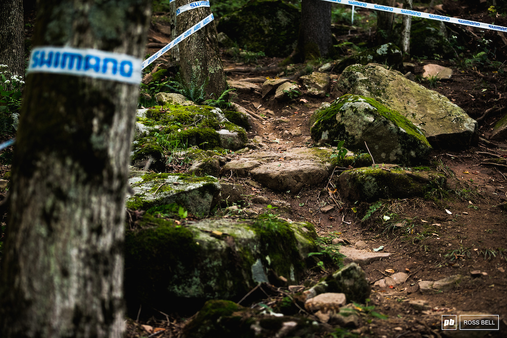 There's plenty of line choice for riders to scope out tomorrow and get up to speed on.