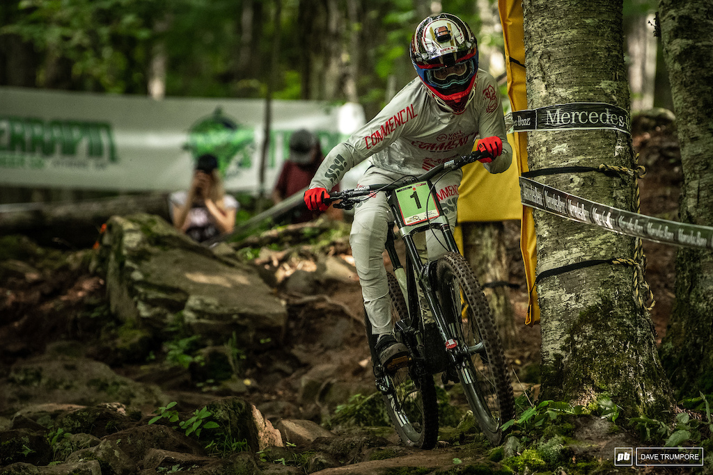 Thibaut Daprela still has the number one plate on his bike but it has been a while since we have seen him win in the junior race.