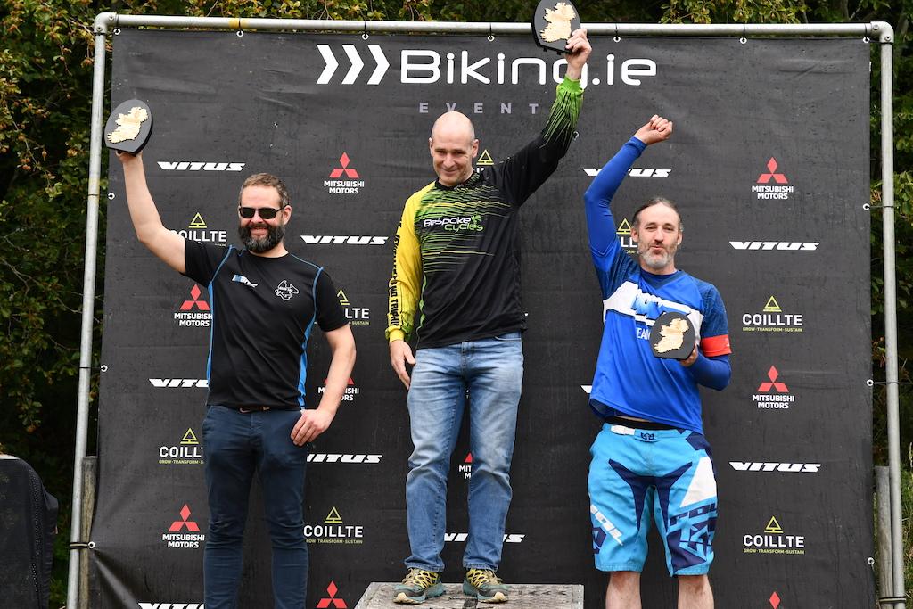 Paul McLoughlin Bespoke Cycles overall winner on Veteran Man 40-49