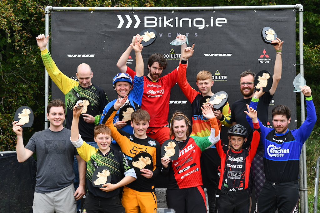 All categories winner of the Vitus Gravity Enduro Series 2019 see you next year