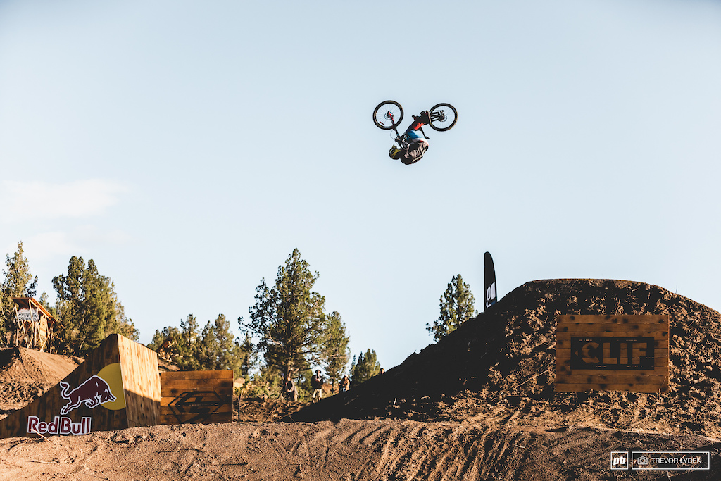 Nicholai had some impressive tricks, however they weren't quite enough to take the Rampage spots from his friends.