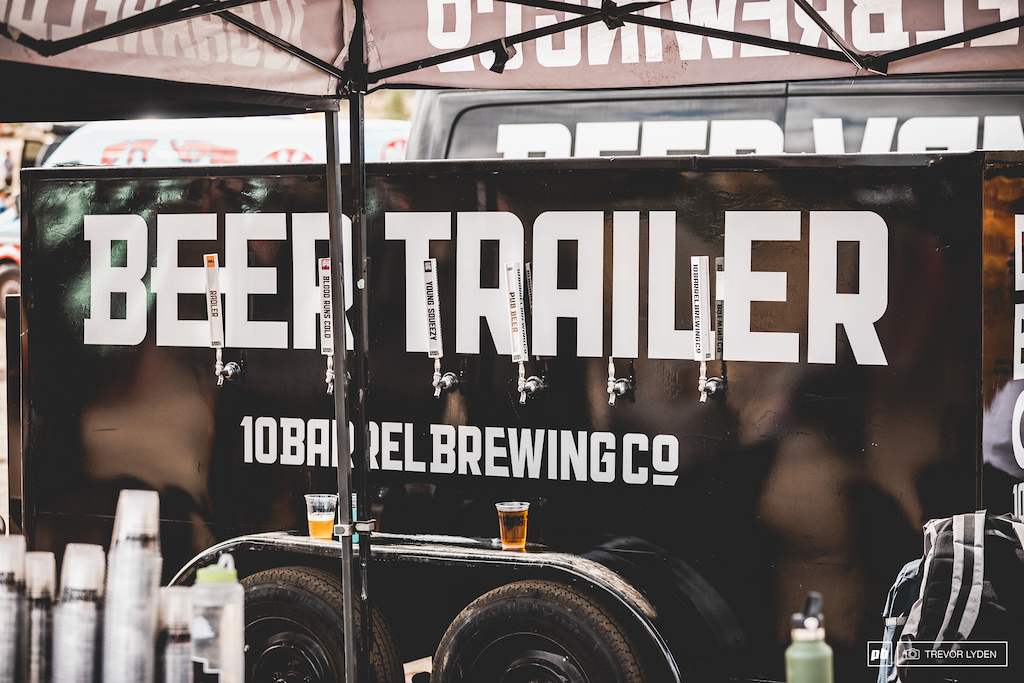 BEER TRAILER.  Sometimes it's ok to be a follower.