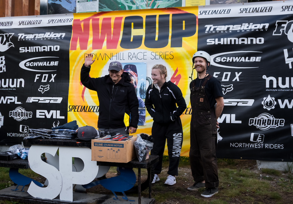 Photographers Duane Robinson Mountain Sports Photography Olivia Smith OSMITHRACING and Matt Roebke Roebke Photo were treated to a big thanks from the NW Cup family for their work throughout the season.