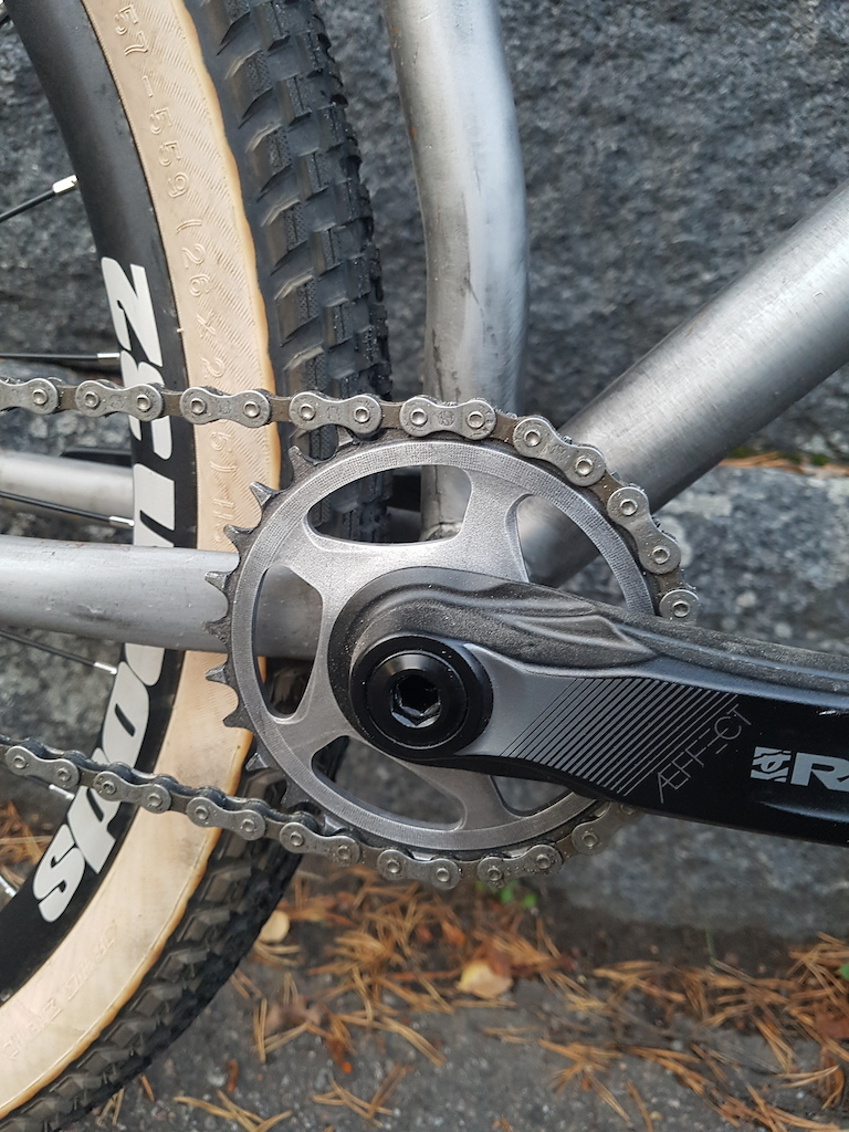 De-adonized chainring