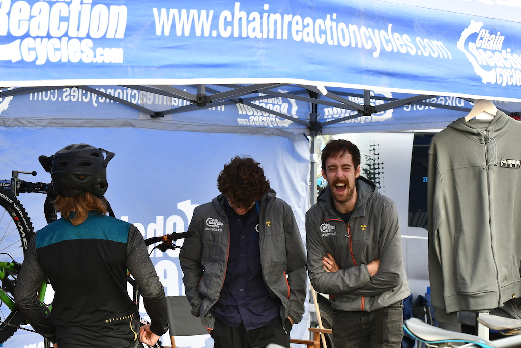 That s all about fun and having good times. Chainreaction Belfast always present on all races offering mechanical support to all the participants.