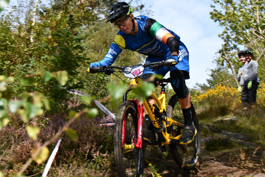 Kelan Grant could race past weekend on Carrick on the Gravity Series due to a cold seems to be recovered and ready to battle for the podium