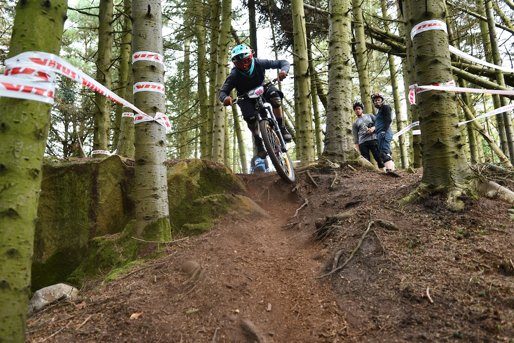 Fresh loam everywhere SS4 has some fast sections to offer