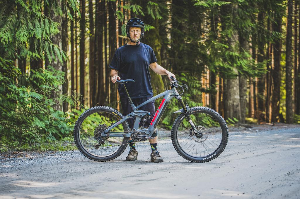 Trevor Porter rides the Kona Remote 160