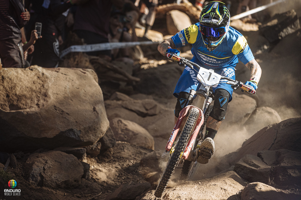 Sam Hill won stage 2. He has an overall series to win and is not messing around here in Northstar California.