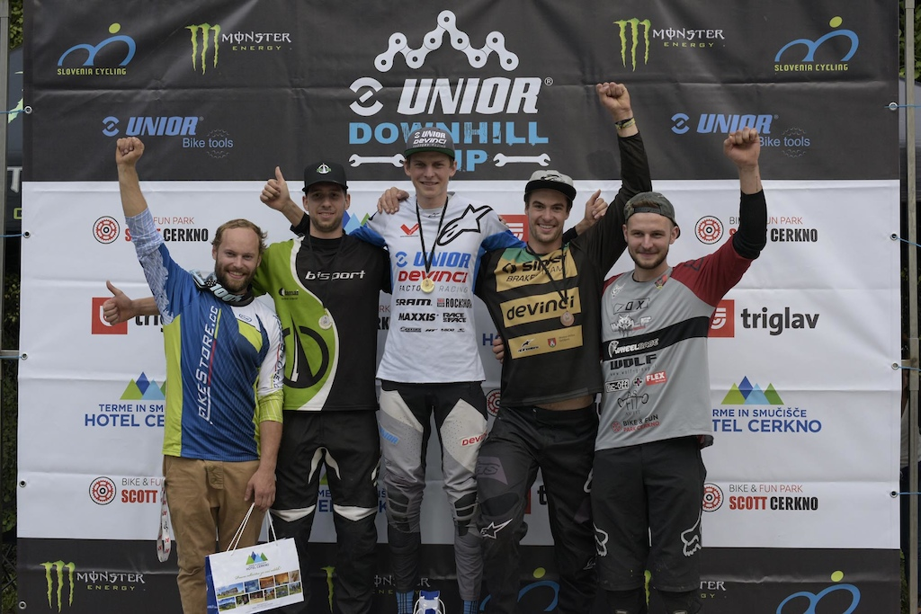 Downhill Cerkno 2019 Unior Downhill Cup photo by Urban Cerjak Monster Energy