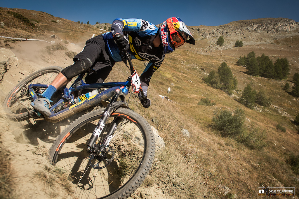 Martin Maes back on form and crushing the competition in Zermatt