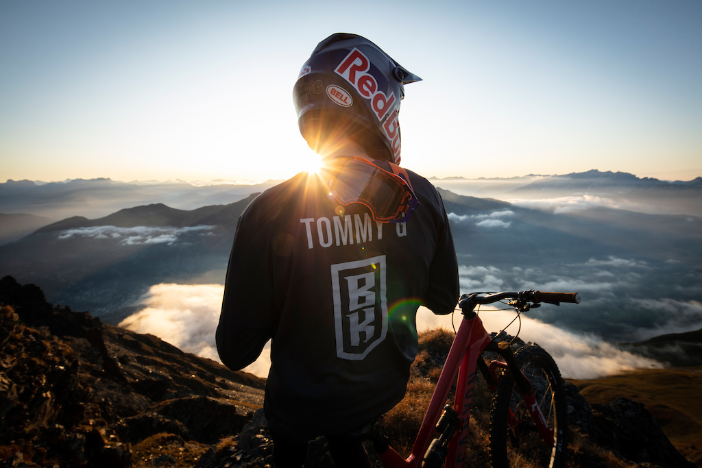 Tommy G overlooking the BIKE KINGDOM