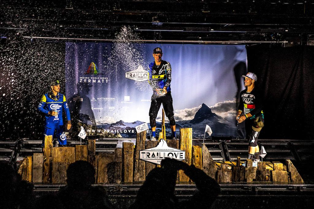 Martin Maes wins EWS Zermatt
