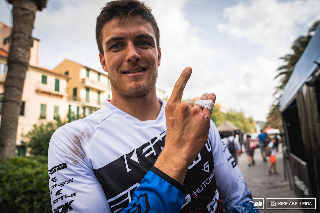 Kevin Miquel forced to not race TON. Kevin was out for a few chill laps on Saturday morning and broke his hand on a crash.