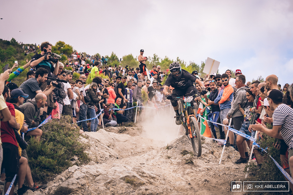 The crowd was top notch as usual at DH men.